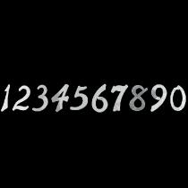 Цифри Н100мм