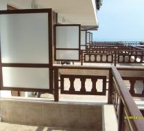 Exterior Dekorative Trennwände